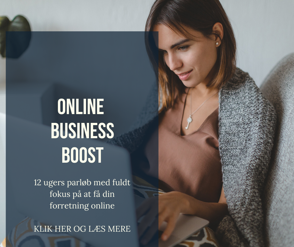 Boost din business online